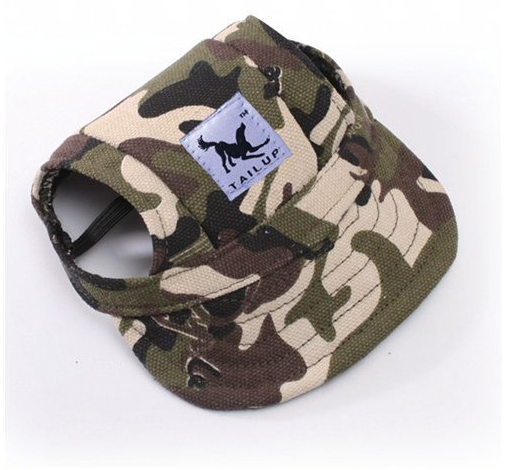 Dog Canvas Hat Sports Baseball Cap - Wolrdiscounts