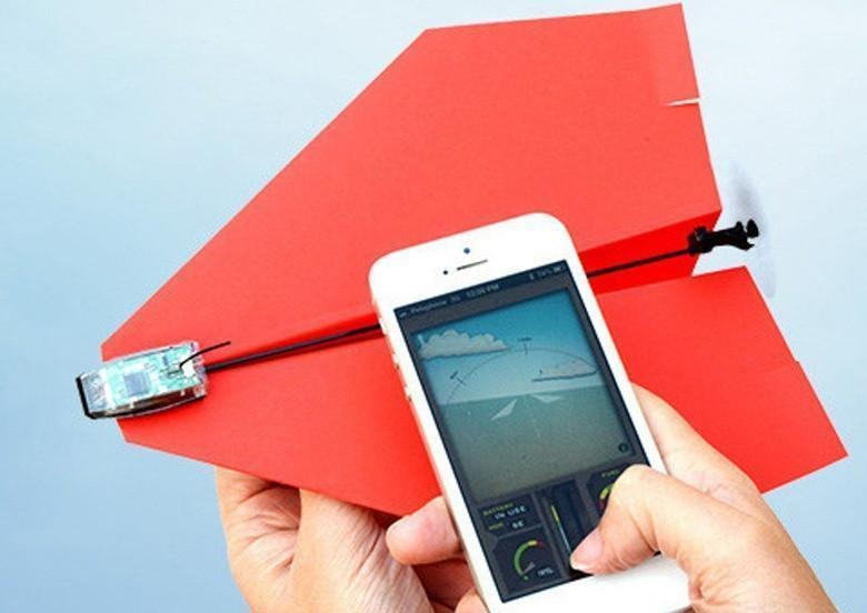 AeroPlane™ Smartphone Controlled Paper Drone - Wolrdiscounts
