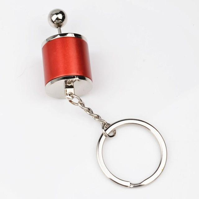 Creative Car Turbo Keychains Six-Speed Manual Shift Gear Keychain Keyring Auto Car's Parts Toy key Holder Fashion Jewelry Gift - Wolrdiscounts