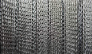10mm Black Elastic Knitted - 1m