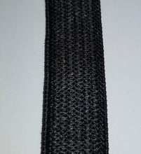 Load image into Gallery viewer, 13mm Black Elastic Knitted 100m