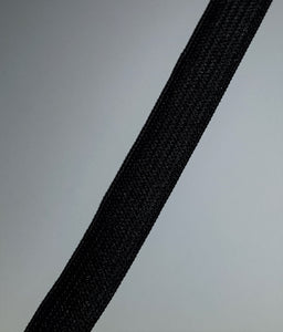 13mm Black Elastic Knitted 100m