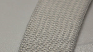 16mm White Elastic Knitted 100m