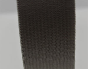25mm Black Elastic Knitted 50m