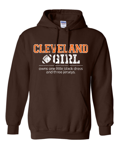 Cleveland Girl Football - Hoodie