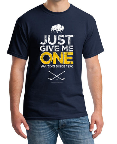 Just Give Me One - Buffalo Hockey t-shirt