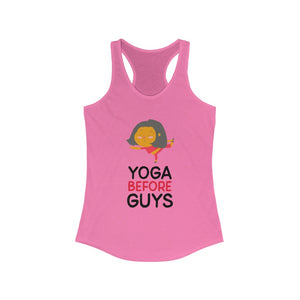 Yoga Before Guys Tank Top
