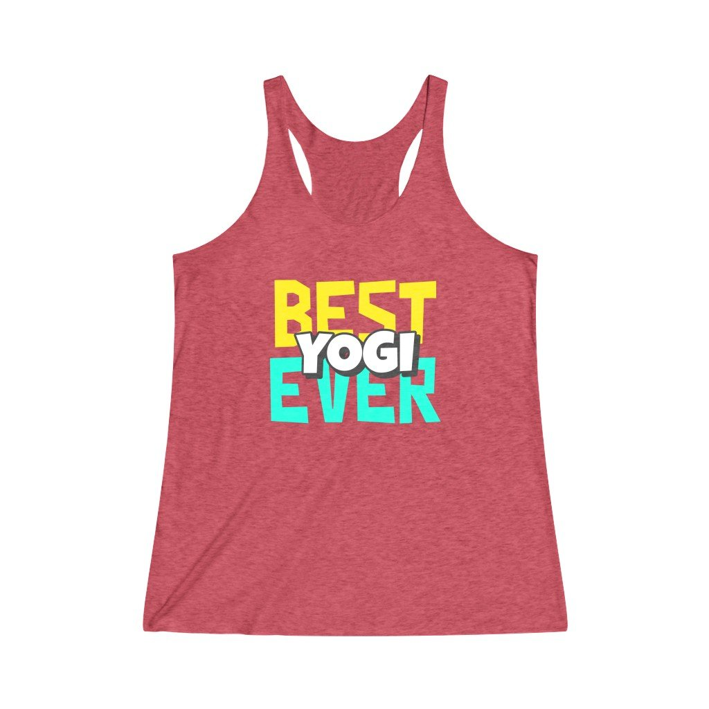 Best Yogi Ever Tank Top - YogaCentric.life