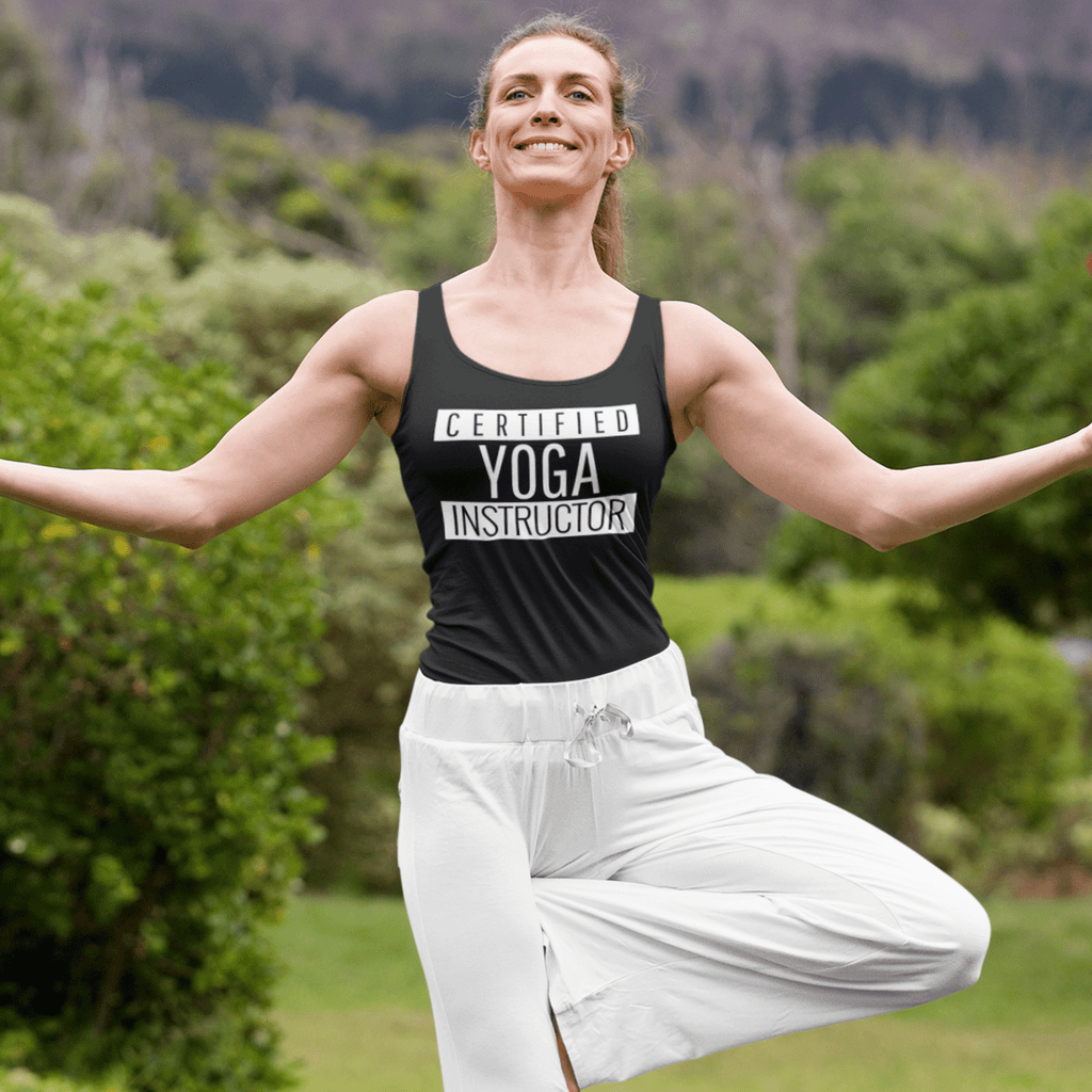 Certified Yoga Instructor Tank Top - YogaCentric.life