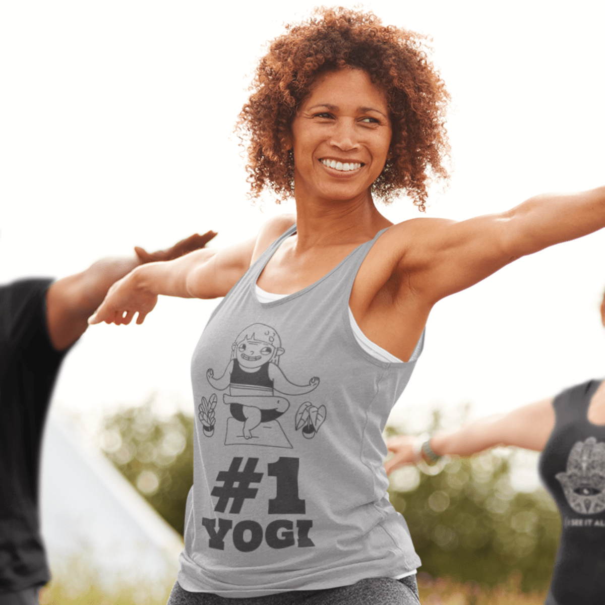 Number One Yogi Tank Top - YogaCentric.life