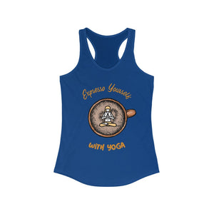 Expresso Yourself With Yoga Tank Top