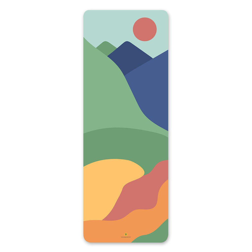 Majestic Mountains Yoga Mat - YogaCentric.life