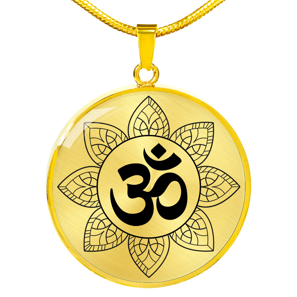 Om Mandala Luxury Necklace