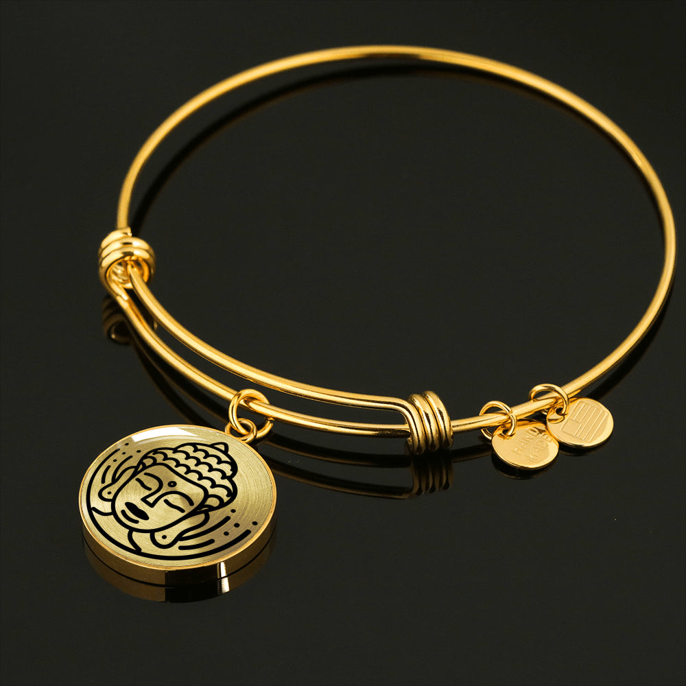 Buddha Adjustable Luxury Bangle