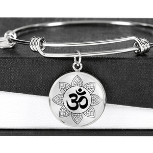 Om Mandala Luxury Bangle
