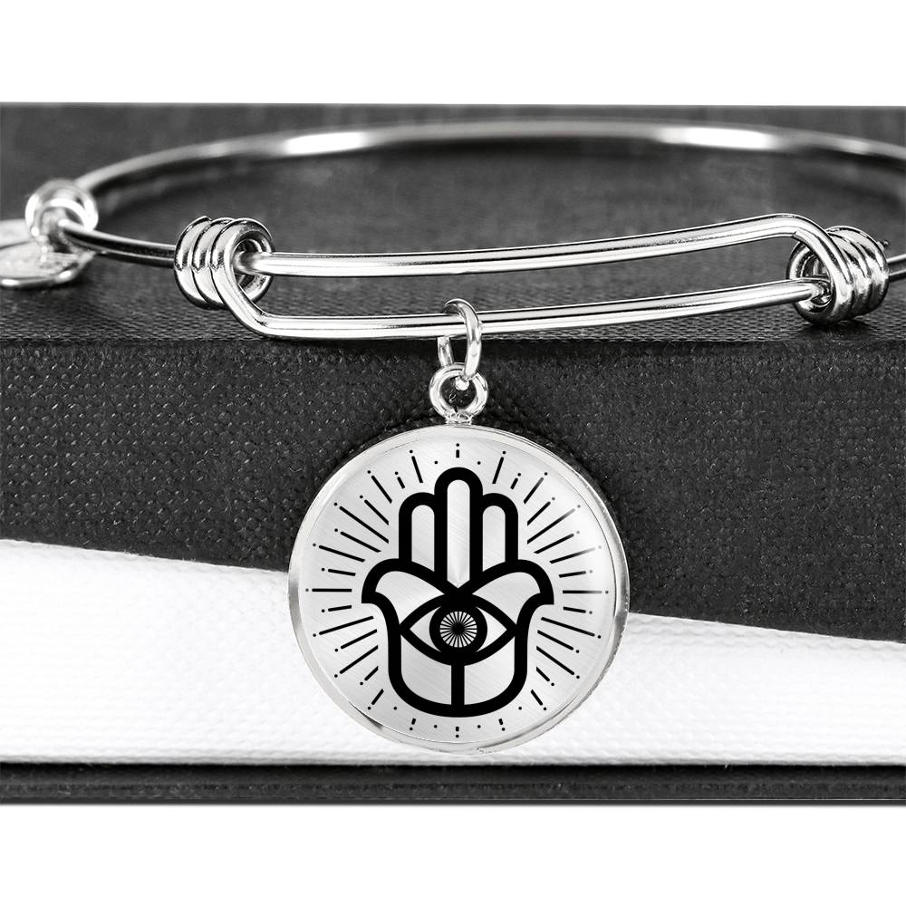 Hamsa Luxury Bangle