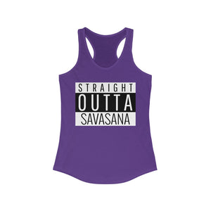 Straight Outta Savasana Tank Top
