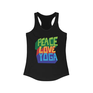 Peace Love Yoga Tank Top