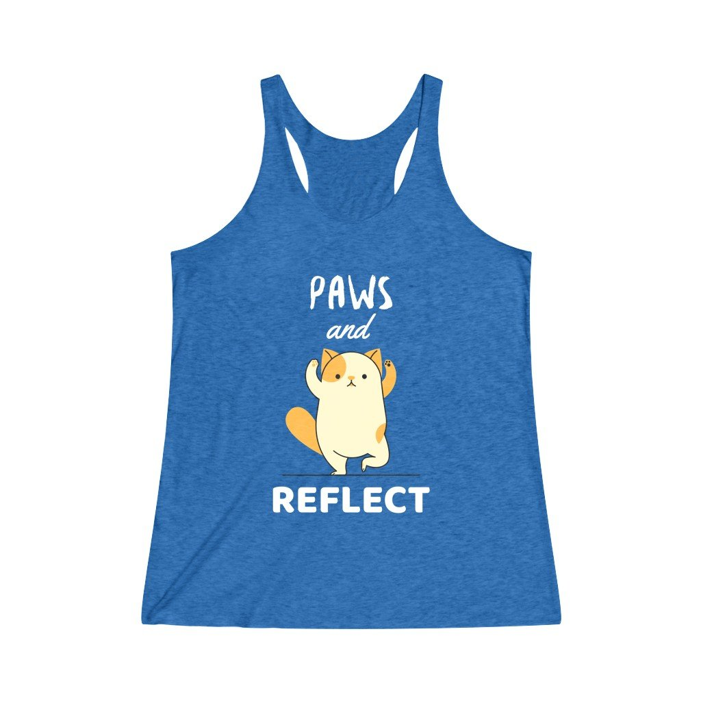 Paws And Reflect Tank Top - YogaCentric.life