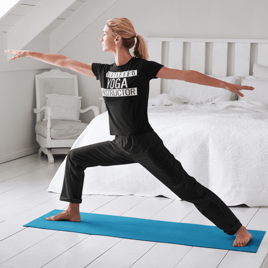 Certified Yoga Instructor T-shirt - YogaCentric.life