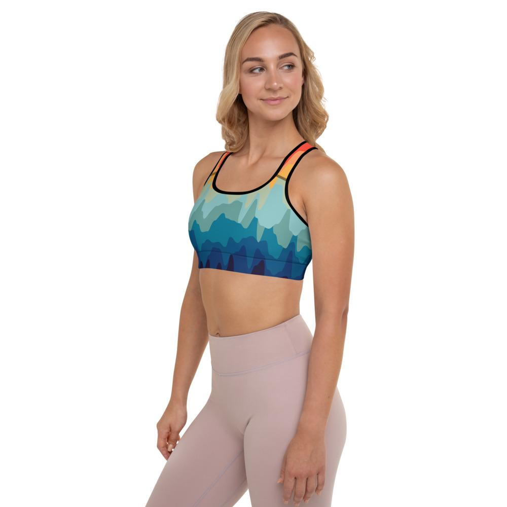 Delicious Drip Padded Sports Bra - YogaCentric.life