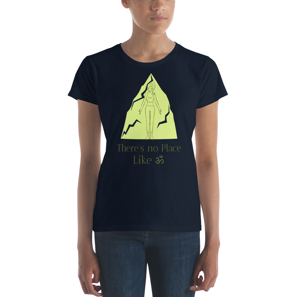There Is No Place Like Om T-shirt - YogaCentric.life