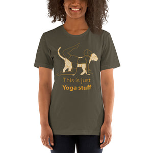 This Is Just Yoga Stuff T-Shirt - YogaCentric.life