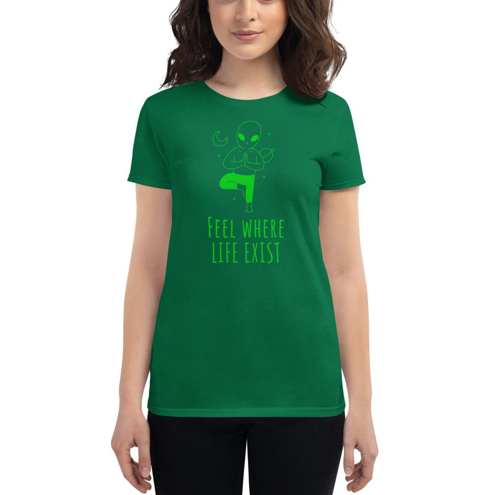 Feel Where Life Exists T-shirt - YogaCentric.life