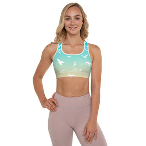 Beaming Birds Padded Sports Bra - YogaCentric.life