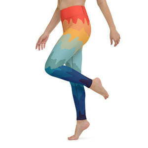 Delicious Drip Yoga Leggings - YogaCentric.life