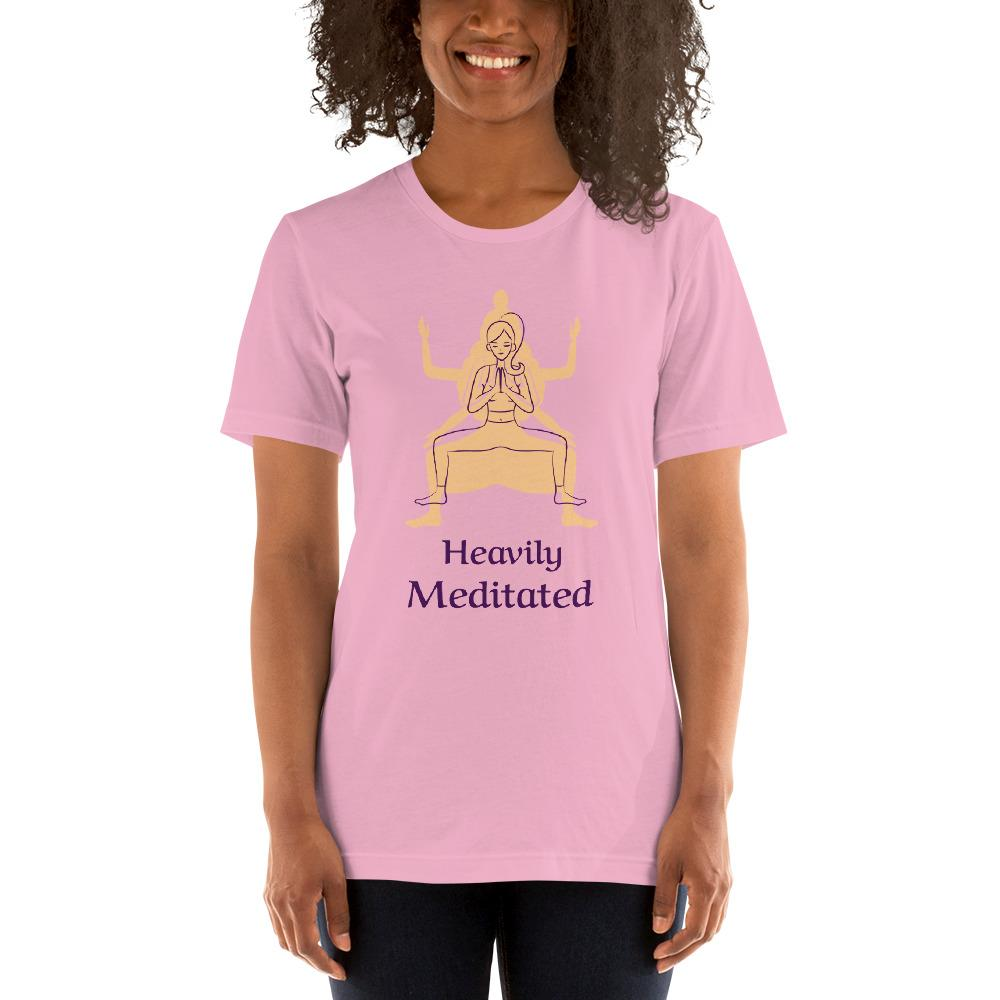 Heavily Meditated T-Shirt - YogaCentric.life