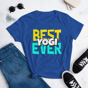 Best Yogi Ever T-shirt - YogaCentric.life