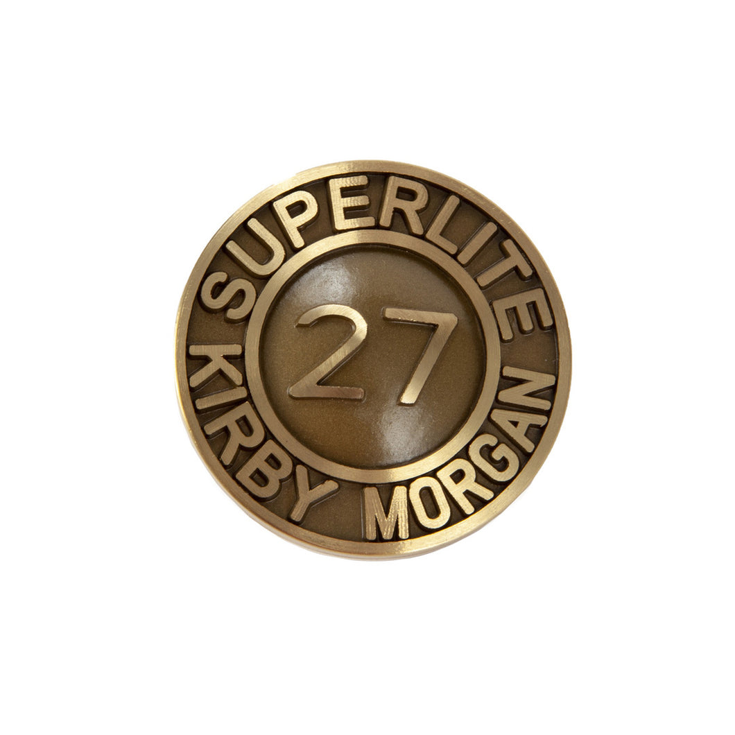Kirby Morgan 560-115 SuperLite 27 Plaque