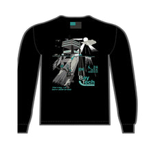 Load image into Gallery viewer, Bay-Tech Industries Offshore Platform Long Sleeve T-Shirt - Black