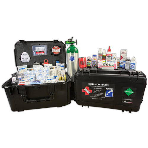 Dive 1st Aid FAK379 Commercial Diver Kit with O2