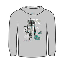 Load image into Gallery viewer, Bay-Tech Industries Offshore Platform Hoodie - Grey