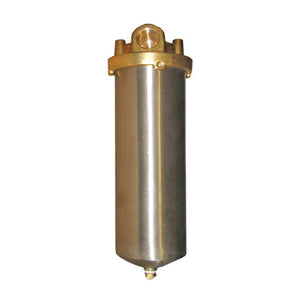 Stainless Steel Filter Housing With Brass Head