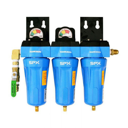 Hankison Three-Stage SPX HF 16 Series Filter Package