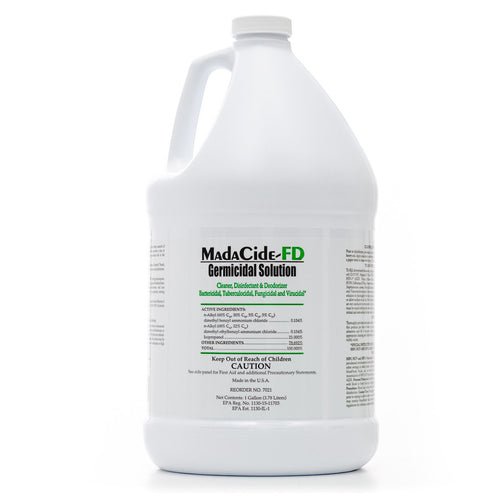 Madacide-1 Disinfectant Solution Fast Drying Formula , 1 Gallon