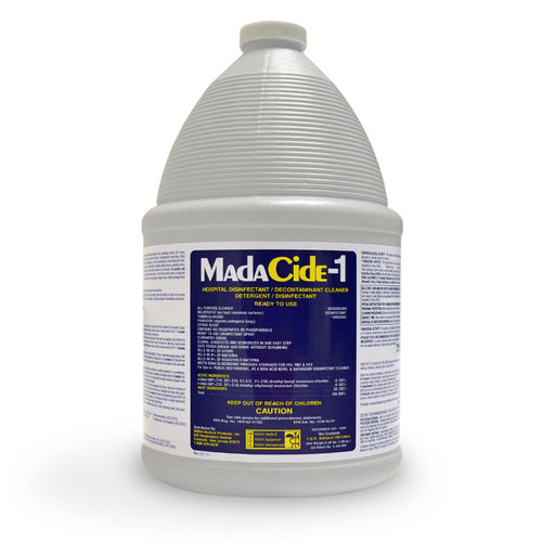 Madacide-1 Disinfectant Solution, 1 Gallon