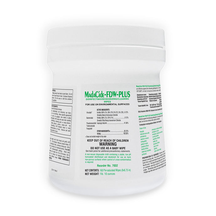Madacide Fast Drying Wipes (160 Wipes)