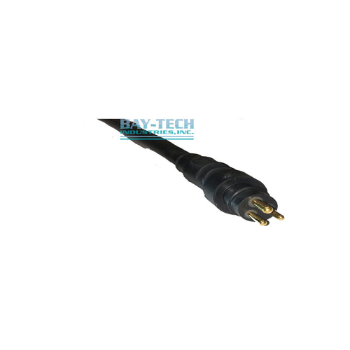 3 Pin Male RMG-3-MP Rubber Connector