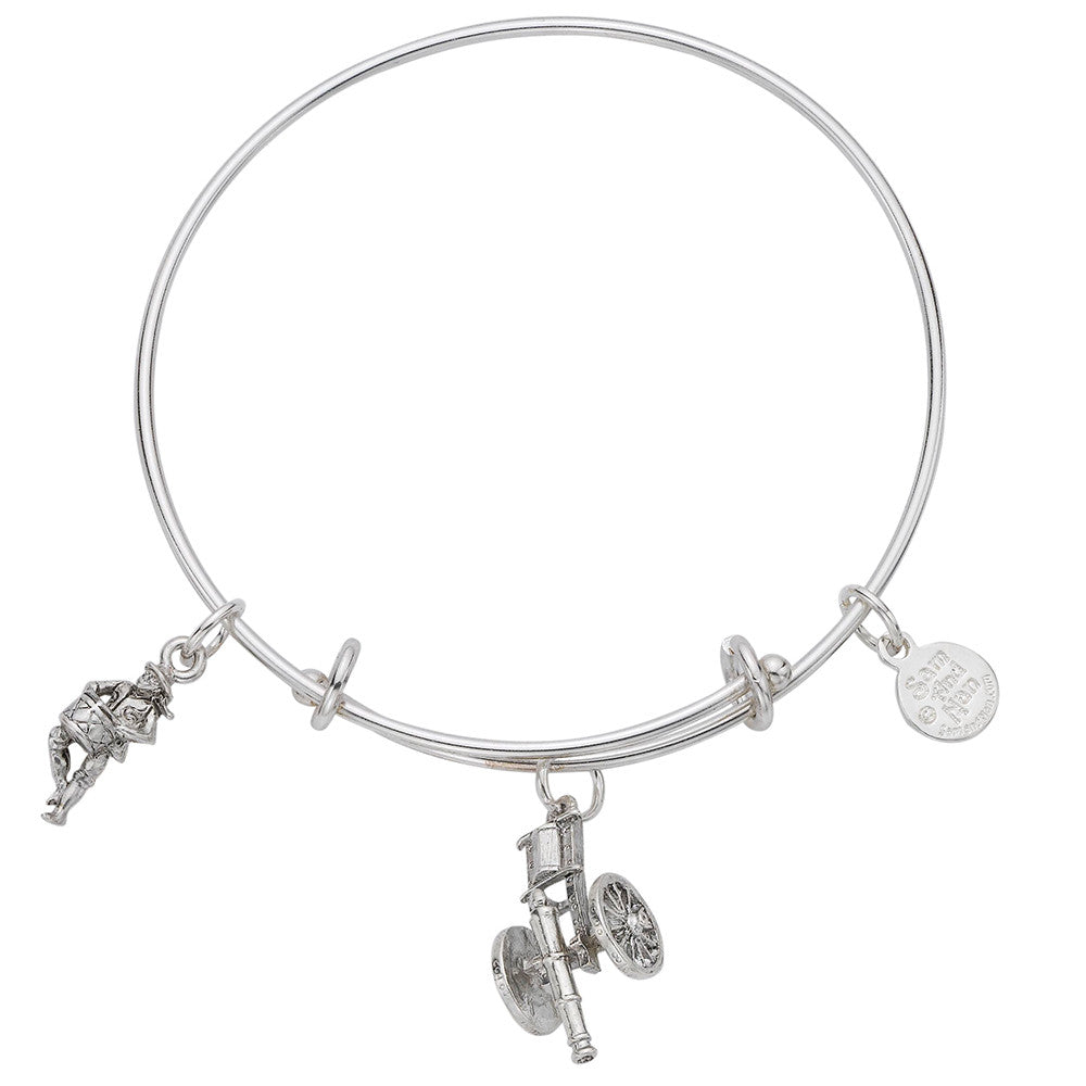 Cannon Minute Man Drummer Bangle Braclet - SamandNan