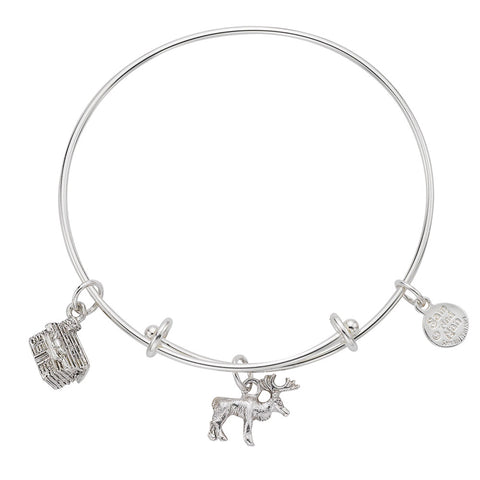 Moose Cabin Bangle Bracelet - SamandNan