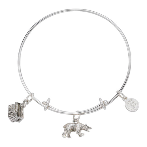 Bear Cabin Bangle Bracelet - SamandNan
