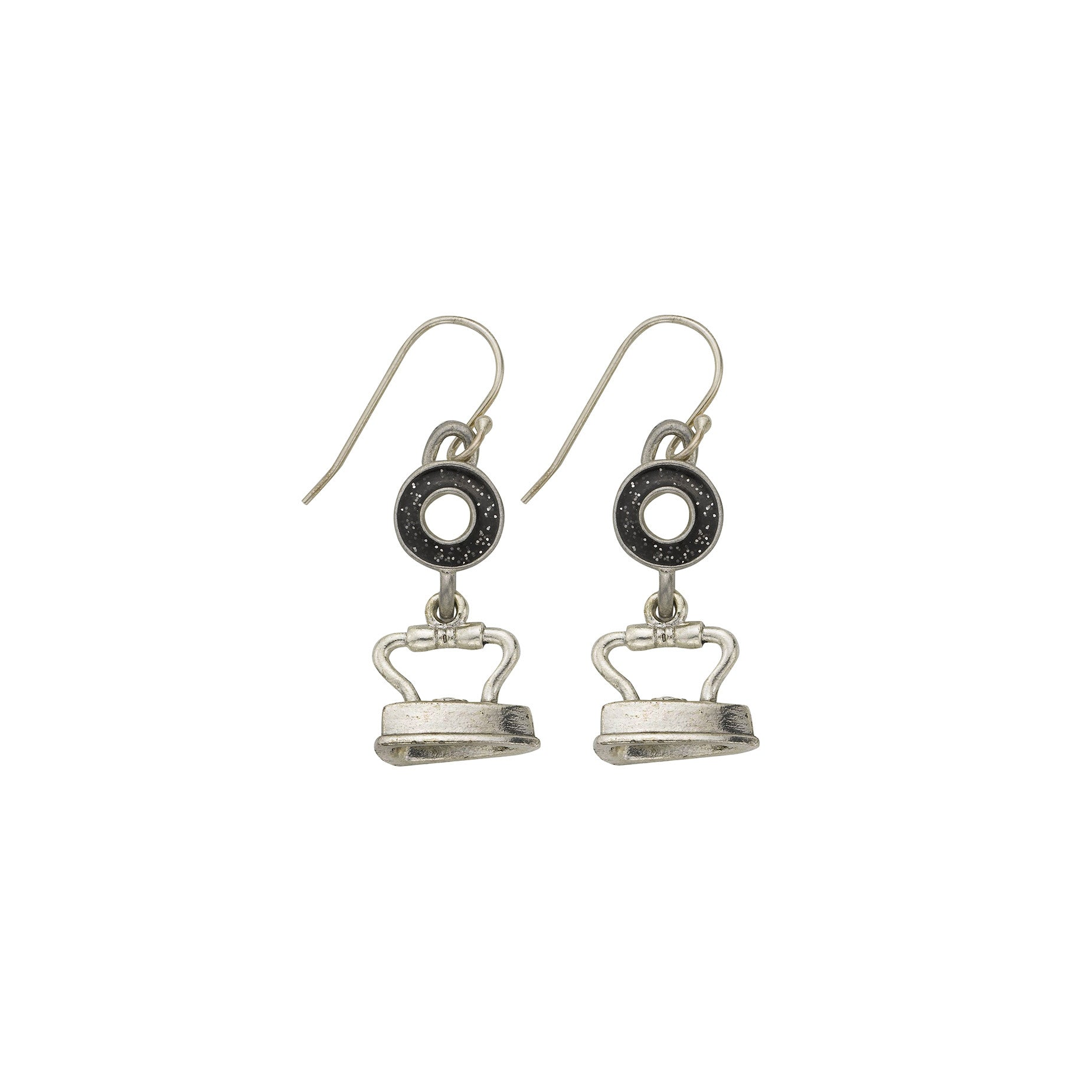 Black Iron Earrings - SamandNan