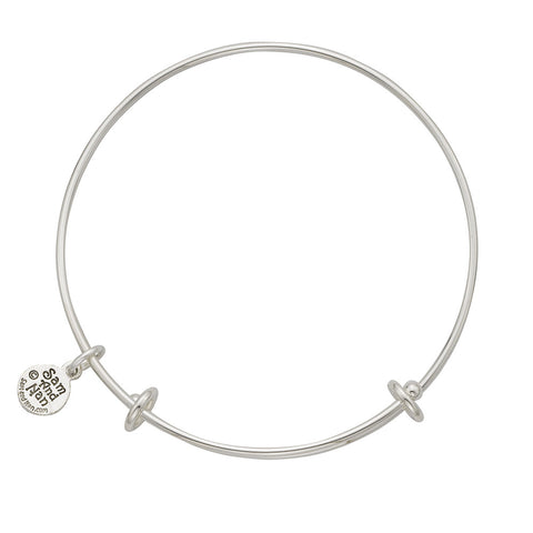 SamandNan Blank Bangle Bracelets. Small, Medium or Large. Select Charms for Your Bracelet. - SamandNan