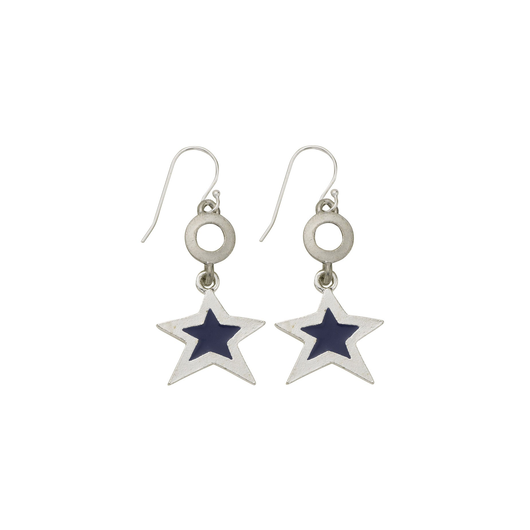Blue Star Open Cup Earring - SamandNan
