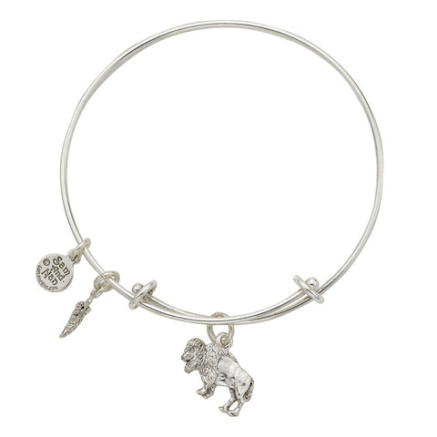 Buffalo Charm Bangle Bracelet - SamandNan