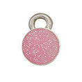 Pink October Birthstone Charms - SamandNan